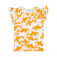 T-Shirt All Over Orques  Orange