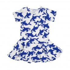 Robe Orques  Bleu électrique