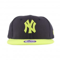 Casquette Snapback Ajustable Diamond NY 9FIFTY Noir