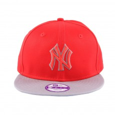 Casquette Snapback Ajustable Pop Outline NY 9FIFTY Rouge