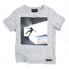 T-shirt Skater Dalton Gris chiné