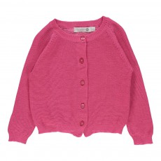 Cardigan Margot Bébé Rose fuschia