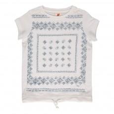 T-shirt Bandana Blanc