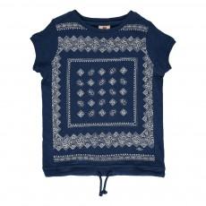 T-shirt Bandana Bleu indigo