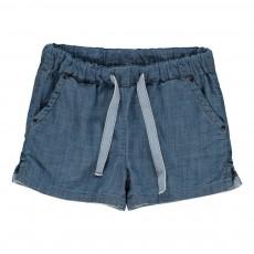 Short Chambray Bleu jean