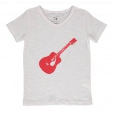 T-shirt Guitare Rouge