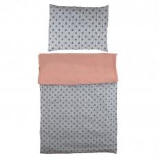 Parure de lit bébé Bâteau - Rose