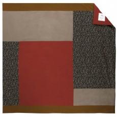 Plaid patchwork Carmen Lune verte