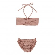 Bikini Fines Rayures Cuivre