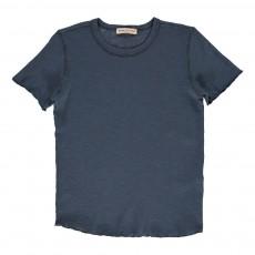 T-shirt  Bleu indigo
