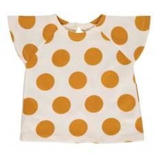 T-shirt Pois Nanu Ocre