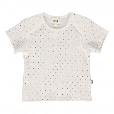 T-shirt Pois Blanc
