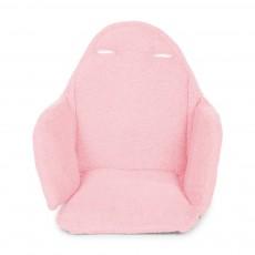 Assise chaise haute évolutive - Rose poudré