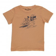 T-shirt Hawaii Surf Ocre