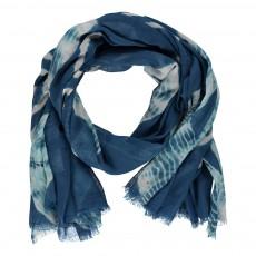 Foulard Tie&Dye Bleu