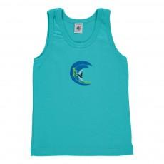 Débardeur Meilleur Bleu turquoise