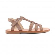 Sandales Sable