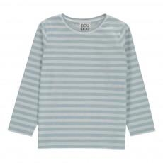 T-Shirt Rayé Mogano Bleu ciel
