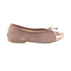 Ballerines Bicolores Rose