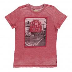 T-Shirt Slim Fit Road Rouge brique