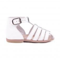 Sandales Cuir Jules Blanc
