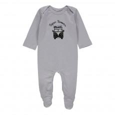 Pyjama Super Summer Rêve Bleu gris