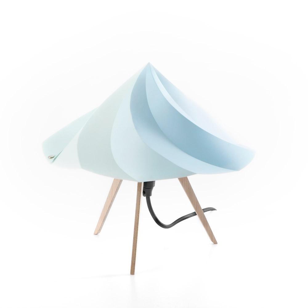 Lampe chantilly constance guisset petit mod le bleu for Lampe pipistrello petit modele
