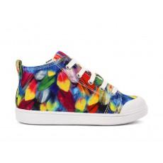 Baskets Ten Mid Cut Ara Multicolore