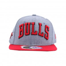 Casquette Snapback Heather Ball Chicago Bulls 59FIFTY Bleu