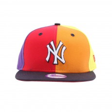 Casquette Snapback Ajustable  Multi-Wheel NY 9FIFTY Multicolore