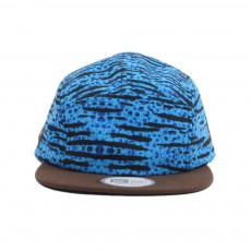 Casquette 5 Panel Mash Up Camper Bleu