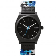 Montre The Time Teller Woven Noir