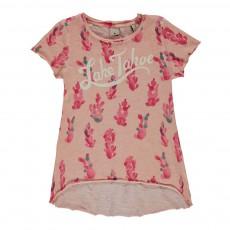 """T-shirt """"Lake Tahoe"""" Rose pâle"""