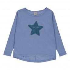 T-shirt Tootsy Bleu