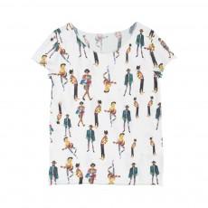T-Shirt Pancho Brothers Blanc