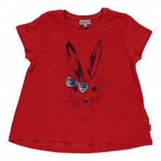 T-shirt Lapin Héloise Rouge