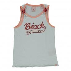 """Débardeur """"Beach"""" Blanc"""
