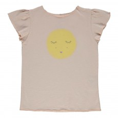 T-shirt Rêve Papillon Rose pâle