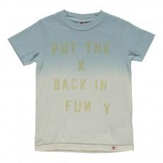 T-shirt Tie&Dye Bleu pâle