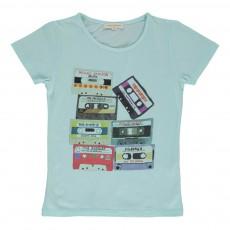 T-shirt Mixtape Vert pâle