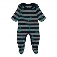 Pyjama Coton Bio Agadir Gris