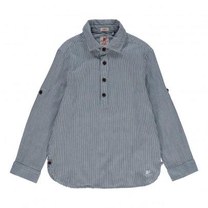 chemise ray e bleu ao76 mode ado gar on smallable. Black Bedroom Furniture Sets. Home Design Ideas