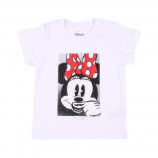 T-Shirt Minnie Blanc