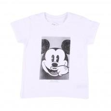 T-Shirt Mickey Blanc