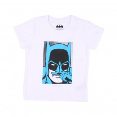 T-Shirt Batman Blanc