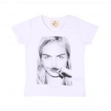 T-Shirt Cara Blanc