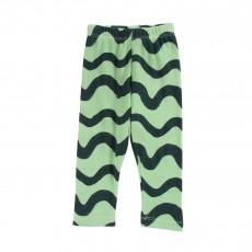 Legging Waves All Over Vert d'eau