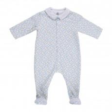 Pyjama Pieds Madalena Blanc