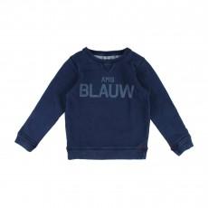 Sweat BLAUW Bleu marine