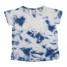 T-shirt Imprimé Tie&Dye Bleu
